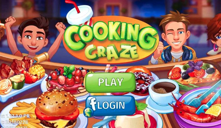 Cooking Craze Paris Levels 1 to 40