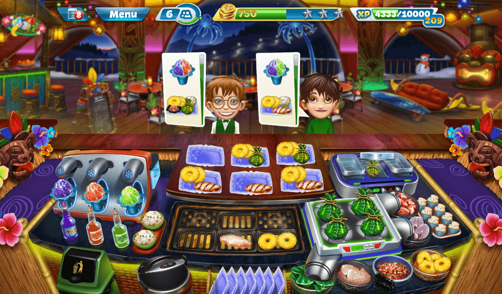 Cooking Fever – Aloha Bistro Strategy Guide