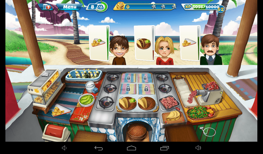 Cooking Fever - Cafe Mexicana Strategy Guide