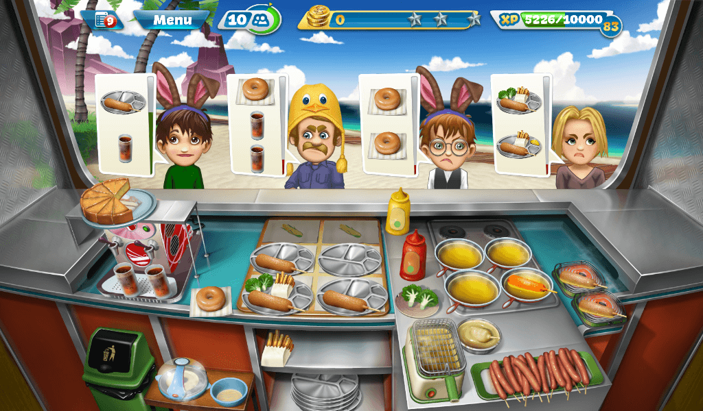 Cooking Fever – Corn Dog Van
