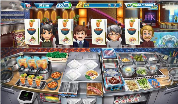 Cooking Fever Hell's Kitchen