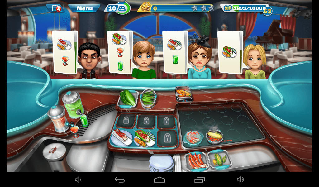 Cooking Fever - House of Crab Strategy Guide