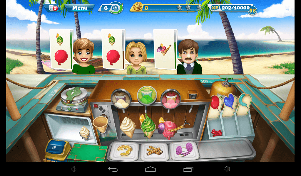 Cooking Fever – Ice Cream Bar Strategy Guide