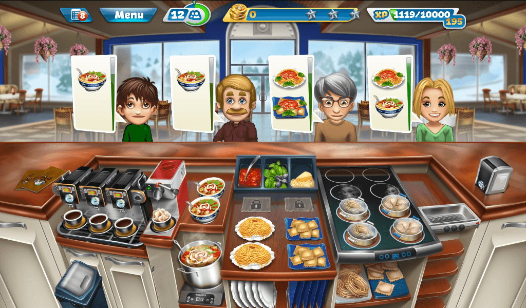 Cooking Fever Italian Buffet