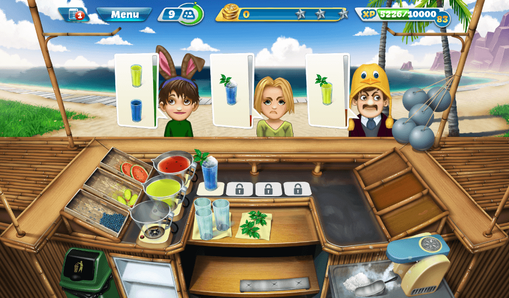 Cooking Fever - Paradise Cocktail Bar