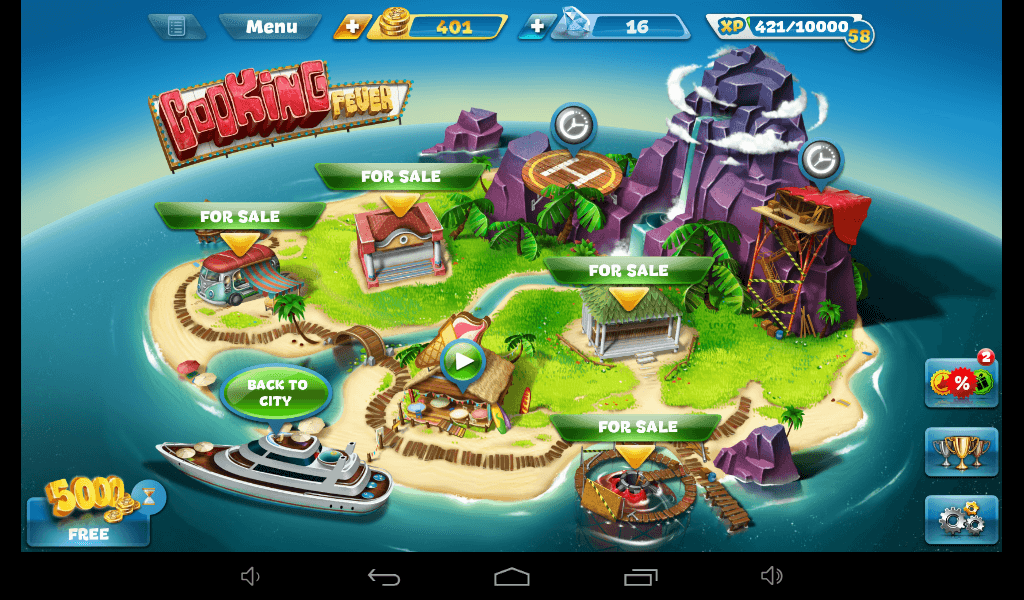 Cooking Fever Paradise Island