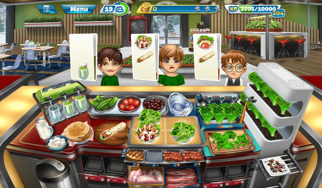 Cooking Fever – Salad Bar Strategy Guide