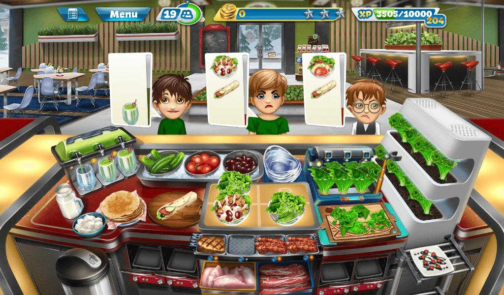 Cooking Fever - Salad Bar
