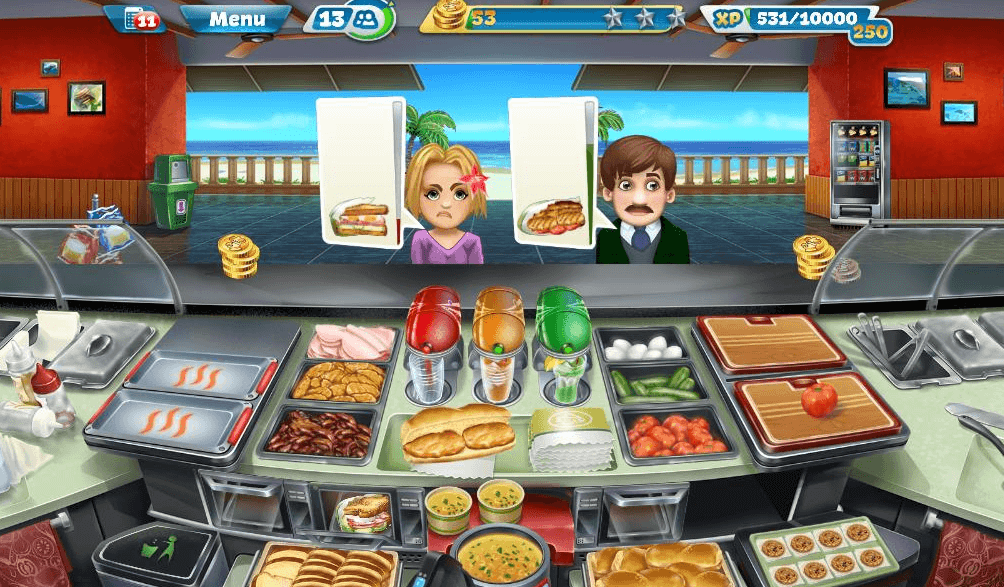 Cooking Fever – Sandwich Shop Strategy Guide