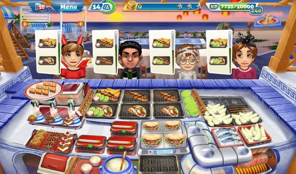 Cooking Fever – Sirtaki Taverna Strategy Guide