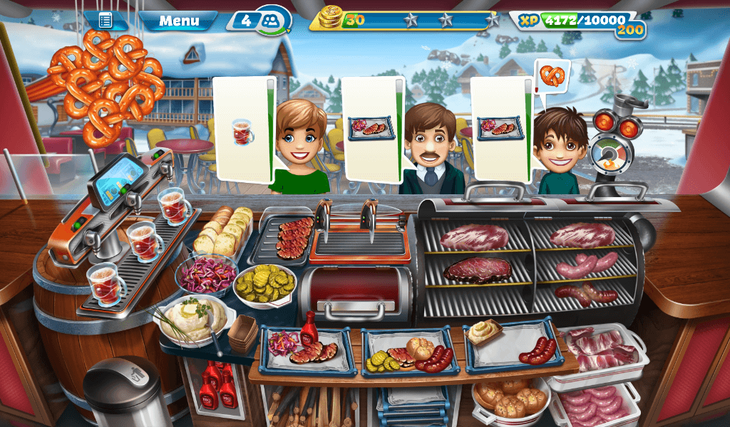 Cooking Fever – Smokey Grill BBQ Strategy Guide