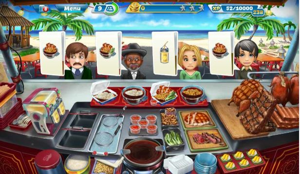 Cooking Fever - Thai Food Stall