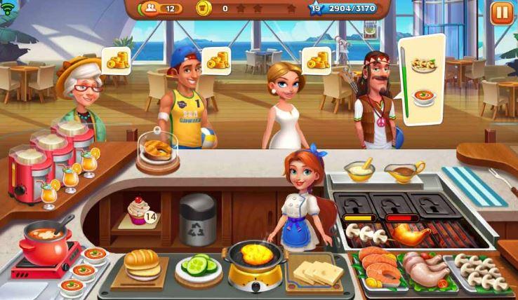 Cooking Joy Delicious Journey Cruise Ship Screen
