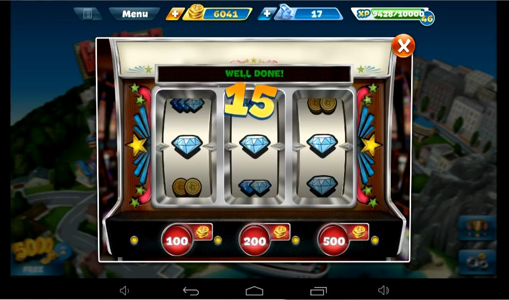 Cooking Fever Casino 15 Gems Win