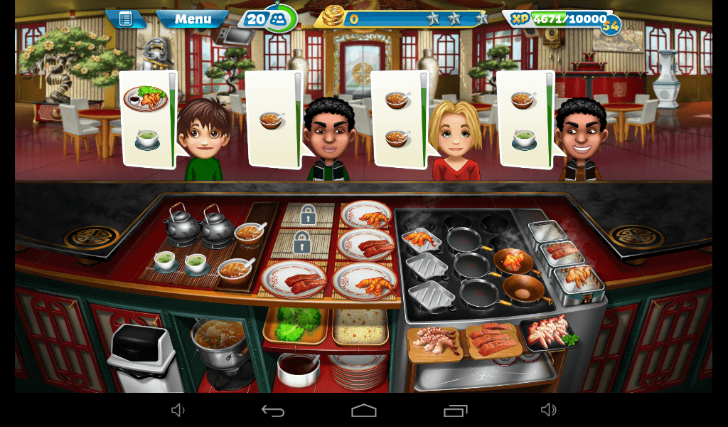 Cooking Fever – Chinese Restaurant Strategy Guide