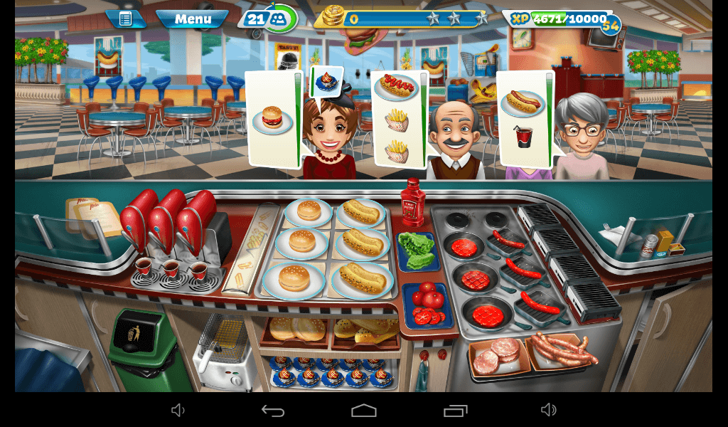 Cooking Fever – Fast Food Restaurant Strategy Guide