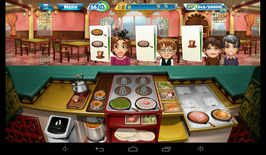 Cooking Fever – Indian Restaurant Strategy Guide