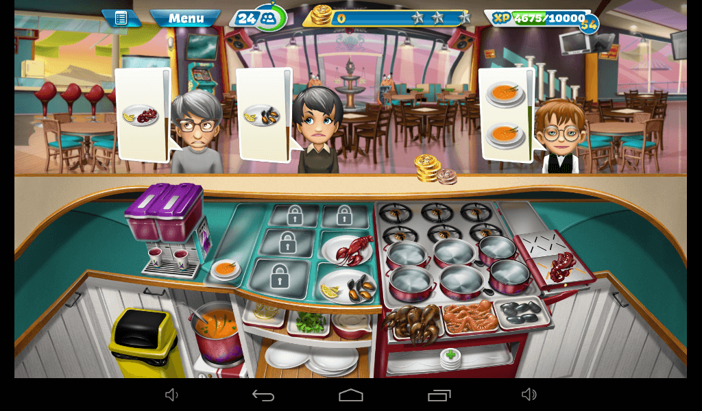 Cooking Fever - Seafood Restaurant