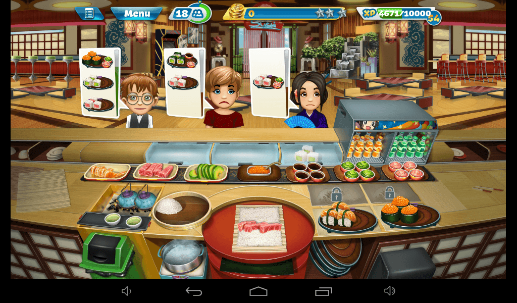 Cooking Fever – Sushi Restaurant Strategy Guide