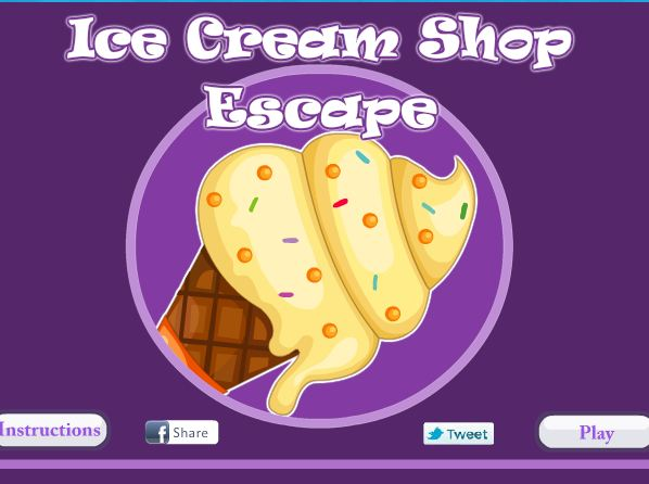 Ice Cream Shop Escape