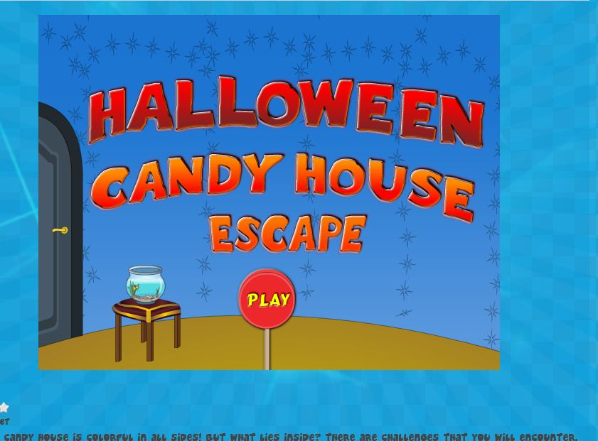 Halloween Candy House Escape