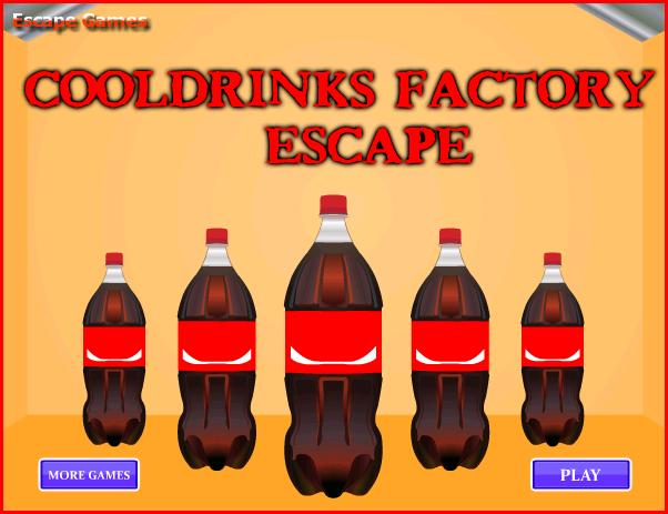 Cooldrinks Factory Escape