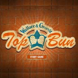 Wallace And Grommet – Top Bun